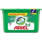 Ariel 3v1 Mountain Spring gélové kapsule na pranie bielizne 11 kusov 297 g