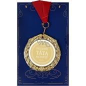 Albi Papírové přání do obálky Přání s medailí - Nejlepší táta W