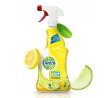 Dettol Citron & Limetka antibakteriálne viacúčelový sprej 500 ml rozprašovač