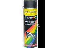 Motip Matt Black čierny matný akrylový lak 500 ml