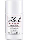 Karl Lagerfeld Karl New York Mercer Street dezodorant stick pre mužov 75 g