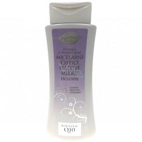 Bion Cosmetics Exclusive & Q10 výživné a hydratačné micelárny čistiace pleťové mlieko 255 ml