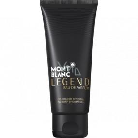 Montblanc Legend Eau de Parfum sprchový gél pre mužov 100 ml