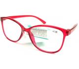 Berkeley Čítacie dioptrické okuliare +1,5 plast červené 1 kus MC2191