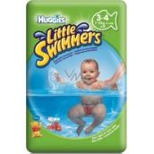Huggies Little Swimmers 3-4 jednorázové plienky do vody 7-15 kg 12 kusov
