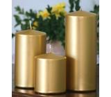 Lima Metal Séria sviečka zlatá valec 60 x 120 mm 1 kus