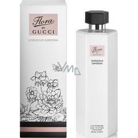 Gucci Flora by Gucci Gorgeous Gardenia tělové mléko pro ženy 200 ml
