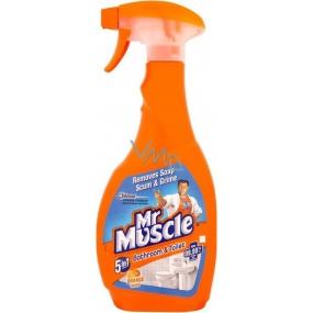 Mr. Muscle Bathroom & Toilet Orange 5v1 čistící a dezinfekční prostředek 750 ml