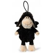Nici Ovečka Jolly čierna so závesom Plyšová hračka najjemnejšie plyš 15 cm
