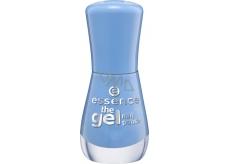 Essence Gel Nail lak na nehty 93 Eclectic Blue 8 ml
