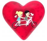 Nekupto Magnet Srdce ružové, koleso 4 cm