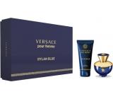 Versace Dylan Blue pour Femme parfémovaná voda pro ženy 30 ml + tělové mléko 50 ml, dárková sada