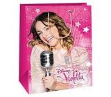 Ditipo Disney Darčeková papierová taška pre deti Violetta 23 x 9,8 x 17,5 cm