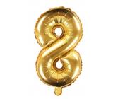 Balónik nafukovacie číslo 8, 35 cm fóliový