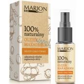 Marion Eco Makadamové oriešky 100% prírodný bio olej pre vlasy, pleť a telo, regenerácia pokožky 25 ml