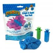 Mad Mattr Kinetický písek modelovací Vytvoř a postav modrá 57 g