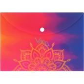 Albi Original Puzdro na dokumenty Mandala na dúhovom A5 - 148 x 210 mm