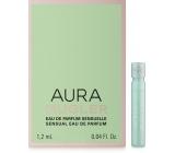Thierry Mugler Aura Mugler Eau de Parfum Sensuelle parfémovaná voda pro ženy 1,2 ml s rozprašovačem, vialka