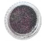 Professional Ozdoby na nechty glitter strieborný 132