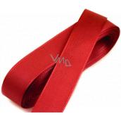 Nekupto Stuha látková taftová červená 3 mx 15 mm