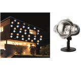 Emos Projektor hviezdy teplá a studená biela + 3 m prívodný kábel