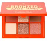 Essence Bronzed This Way paletka očných tieňov 4,5 g