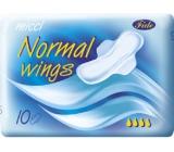 Micca Normal Wing intímne vložky s krídelkami 10 kusov
