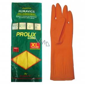 Bartoň Prolix Rukavice gumené ochranné veľkosť XL 1 pár