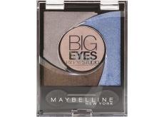 Maybelline Big Eyes oční stíny 04 Luminous Blue 5 g