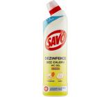 Savo Citrón Wc tekutý čistiaci a dezinfekčný prípravok 750 ml