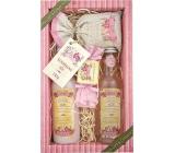 Bohemia Gifts & Cosmetics Rosarium s extrakty z šípků a květů růže sprchový gel 200 ml + šampon na vlasy 200 ml + koupelová sůl 150 g + toaletní mýdlo 30 g, kosmetická sada