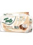 Tento Sensitive Coconut Milk s kokosovým mliekom parfumovaný 3vrstvový 8 kotúčov