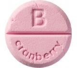 Bomb Cosmetics Brusinka - Cranberry aromaterapie tableta do sprchy 1 kus