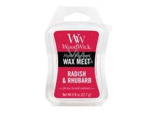 WoodWick Radish and Rhubarb - Ředkev a Rebarbora vonný vosk do aromalampy 22.7 g