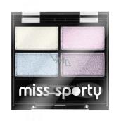 Miss Sporty Studio Colour Quattro očné tiene 415 Cool Unicorn 3,2 g