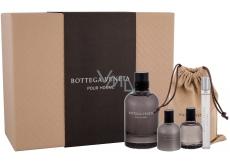 Bottega Veneta pour Homme toaletní voda pro muže 90 ml + balzám po holení 30 ml + toaletní voda 10 ml + sprchový gel 30 ml, dárková sada