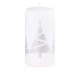 Arome Stromčeky sviečka biela valec 60 x 120 mm 250 g