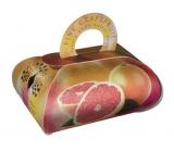 English Soap Pink Grapefruit prírodné parfumované mydlo s bambuckým maslom 260 g