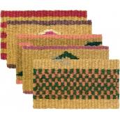 Spokar Rohož Holandská Kokosové vlákno. Různé barevné motivy 56 x 32 cm 1 kus