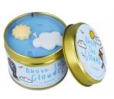 Bomb Cosmetics Nad mraky - Above The Clouds Vonná prírodné, ručne vyrobená sviečka v plechovej dóze horí až 35 hodín