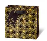 BSB Luxusná darčeková papierová taška 145 x 15 x 6 cm Art Deco LDT 412 - CD