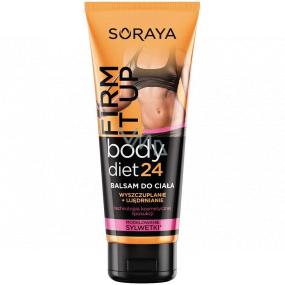 Soraya Body Diet 24 Firm It Up zoštíhľujúci, spevňujúce telové mlieko 200 ml
