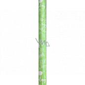 Nekupto Darčekový baliaci papier 70 x 150 cm Zelený Happy Birthday