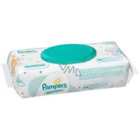 Pampers Sensitive Vlhčené obrúsky pre citlivú pokožku detí 56 kusov