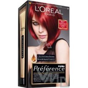 Loreal Paris Préférence Feria farba na vlasy P67 veľmi intenzívna červená