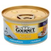 Gourmet Gold Cat Tuniak konzerva pre dospelé mačky 85 g