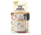 Yankee Candle Christmas Cookie - Sladké pečivo gélová vonná visačka do auta 30 g