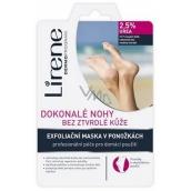 Lirene Dokonalé nohy bez ztvrdlé kůže 2,5% urea exfoliační maska v ponožkách