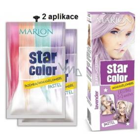 Marion Star Color smývat.bar.na vlasy 2x35ml Pastel Lavender 1737