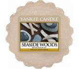 Yankee Candle Seaside Woods - Prímorské dreva vonný vosk do aromalampy 22 g